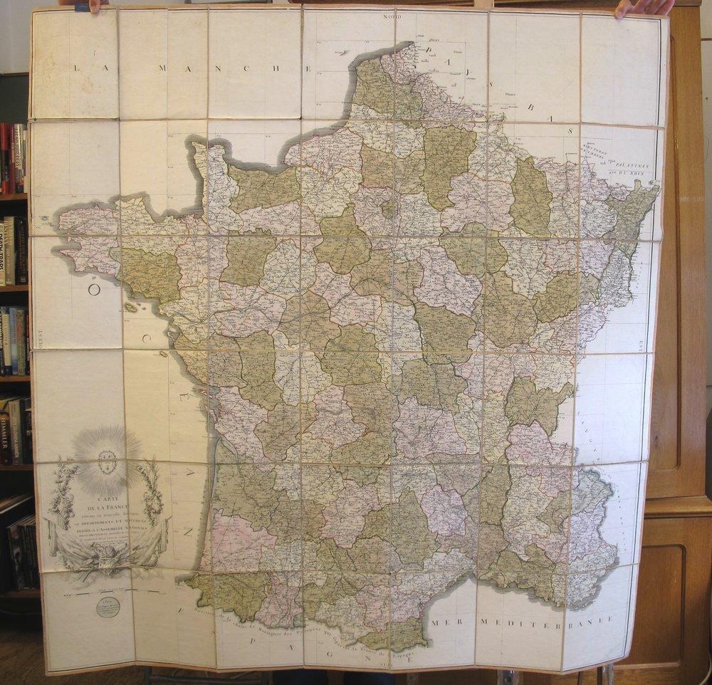 Frankrikekarta, 4500:-