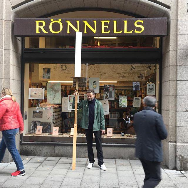 Vernissage i kväll på Rönnells med Jacob Lind! Då har du chansen att förvärva en arkställning.