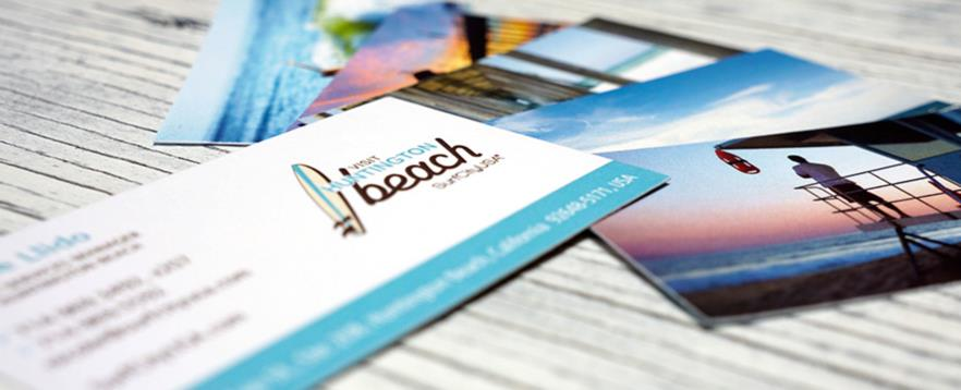 Visit Huntington Beach Business Cards