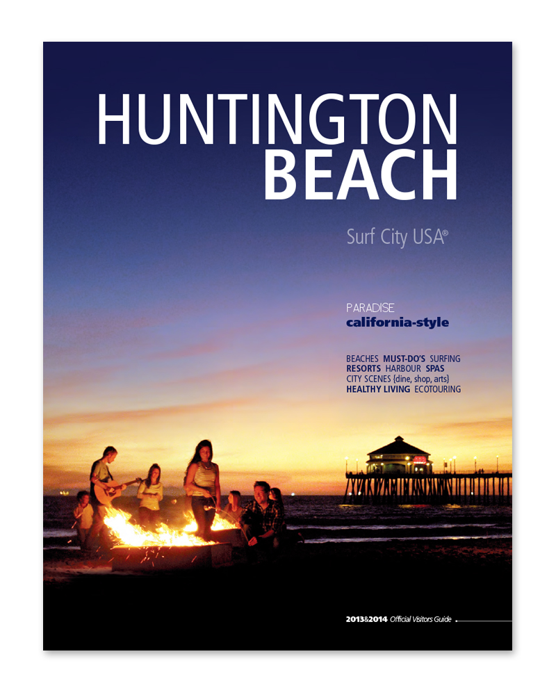 Visit Huntington Beach Visitors Guide '14