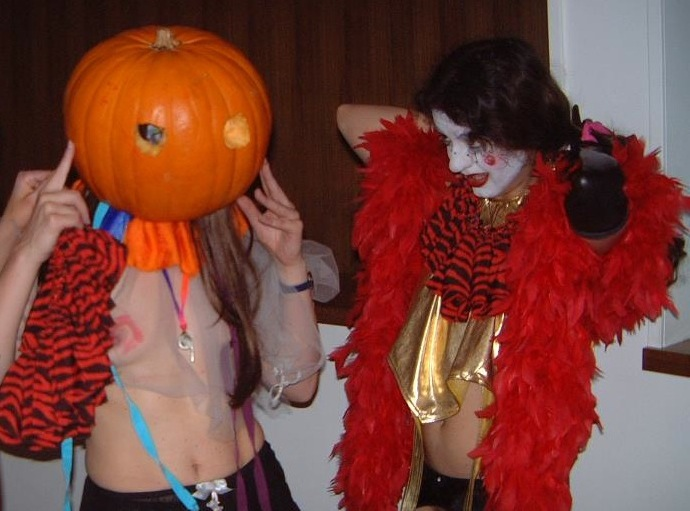 Pumpkins! with Dara Parks as The Holy @ Whoopie Club, London U.K. 2003.