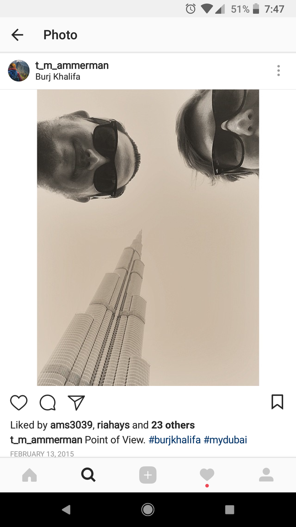 Our nose hairs. Dubai, United Arab Emirates