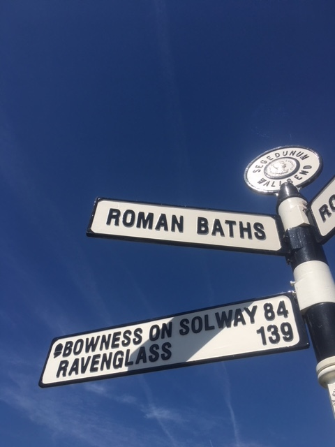 Our first day on the trail. Our destination, Bowness on Solway, was 84 miles away! Seems not so far when you're in a car but definitely something else when you're walking!