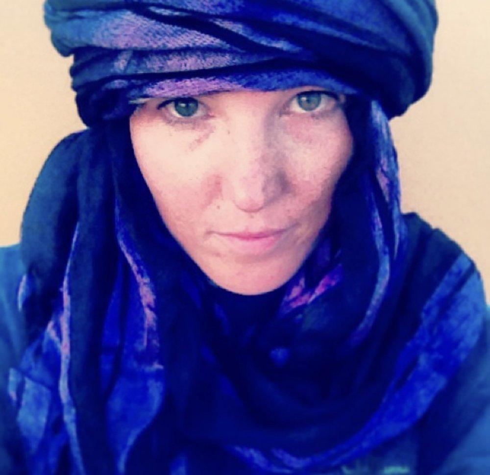 young-ish me. Morocco, 2013.