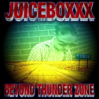"TZ010     JUICEBOXXX ""BEYOND THUNDER ZONE""   MIXTAPE UNLIMITED EDITION  NOTES:  THE PRODUCT OF A WASTED CALI WINTER LISTENING TO GUIDED BY VOICES. BLOWN OUT NU AMERICANA ABOUT RIDING THE BUS AND TRYING TO KEEP THE FAITH. FEAT. SCHWARZ, WHITE RAINBOW, ANTWON, KOOL A.D., GNAR TAPES/WHITE FANG, FIELDED, ISSUE AND FAT TONY. COVER BY LIL UGLY MANE.    DOWNLOAD     VIDEOS  1   2   3"