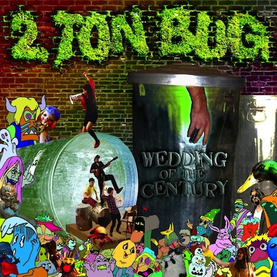 "TZ003 2 TON BUG ""WEDDING OF THE CENTURY"" DIGITAL EP UNLIMITED EDITION NOTES: DEBUT RELEASE BY EAST COAST ""ENERGY DRINK AMERICANA"" RAGERS AND TWITTER LEGENDS 2 TON BUG. BLOWN OUT SICK STYLE PARTY ROCK ANTHEMS. SOMEWHERE BETWEEN EARLY ANDREW WK, BOB LOG III AND WHITE ZOMBIE. HARD ROCK FOR THE THUNDER ZONE. KEEP FIGHTING. DOWNLOAD"