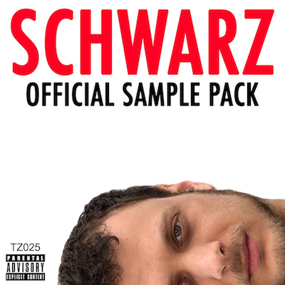 TZ025 THE SCHWARZ SAMPLE PACK AUDIO/ZIP FILE UNLIMITED EDITION NOTES: FINALLY, ALL YOUR FAVORITE SCHWARZ CATCHPHRASES COLLECTED IN ONE PLACE. PERFECT FOR USE IN CLUB TRACKS OR PRANK PHONE CALLS. PLUS ONE EXCLUSIVE NEW SCHWARZ TRACK UTILIZING THE SAMPLES AND SHOWING YOU HOW IT IS PROPERLY DONE. RELEASED CHRISTMAS DAY 2014. COVER BY 333 BOYZ. DOWNLOAD (BANDCAMP) DOWNLOAD (ZIP FILE) VIDEO