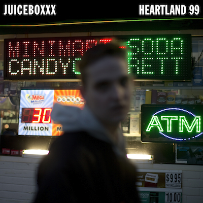 "TZ033     JUICEBOXXX ""HEARTLAND 99""   DIGITAL LP UNLIMITED EDITION  NOTES:  NEW 10 TRACK FULL LENGTH FROM JUICEBOXXX. ANTHEMIC AMERICAN MUSIC MADE FOR DRIVING AROUND AND STAYING ALIVE. FOR EVERYONE OUT THERE TAKING IT ONE DAY AT A TIME AND DOING THEIR BEST TO FOLLOW THEIR DREAMS. LIMITED EDITION VINYL RUN AVAILABLE FROM VINYL INTERNATIONAL RECORDS.    DOWNLOAD (ITUNES)   DOWNLOAD (BANDCAMP)      VIDEOS  1   2   3   4"