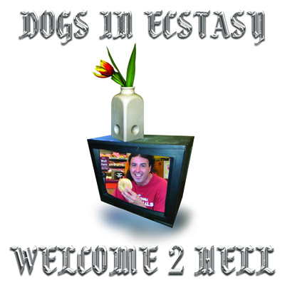 "TZ034 DOGS IN ECSTASY ""WELCOME 2 HELL"" DIGITAL MIXTAPE/CASSETTE 1ST RUN CASSETTE EDITION OF 100 (CLEAR SHELLS). 2ND RUN CASSETTE EDITION OF 100 (PINK SHELLS). NOTES: 2015 SINGULAR DAMAGED POWER POP FEATURING LONGTIME JUICEBOXXX COLLABORATOR WILLY D. SOMEHOW RECALLING RENTALS-STYLE SYNTH GRUNGE, RAINBOW-FRIED NOISE ROCK AND GENERAL MIDI POP INSANITY ALL AT ONCE. THIS IS OUR GUIDED BY VOICES. PRO-PRESSED CASSETTE. BUY CASSETTE DOWNLOAD (BANDCAMP) DOWNLOAD (ITUNES) VIDEOS 1 2 3 4"