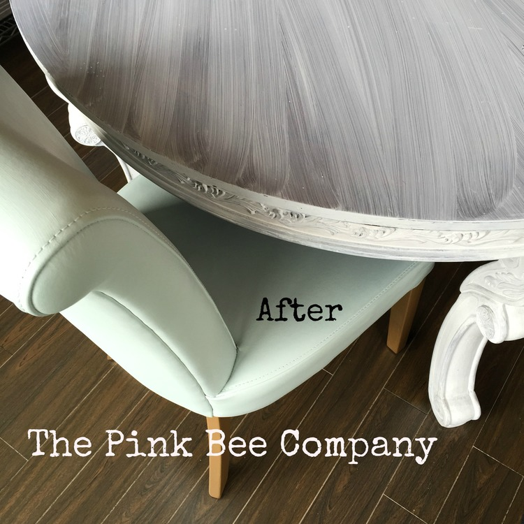 how to paint leather furniture. Leather Chair Painted In Inglenook Fusion Mineral Paint How To Furniture R