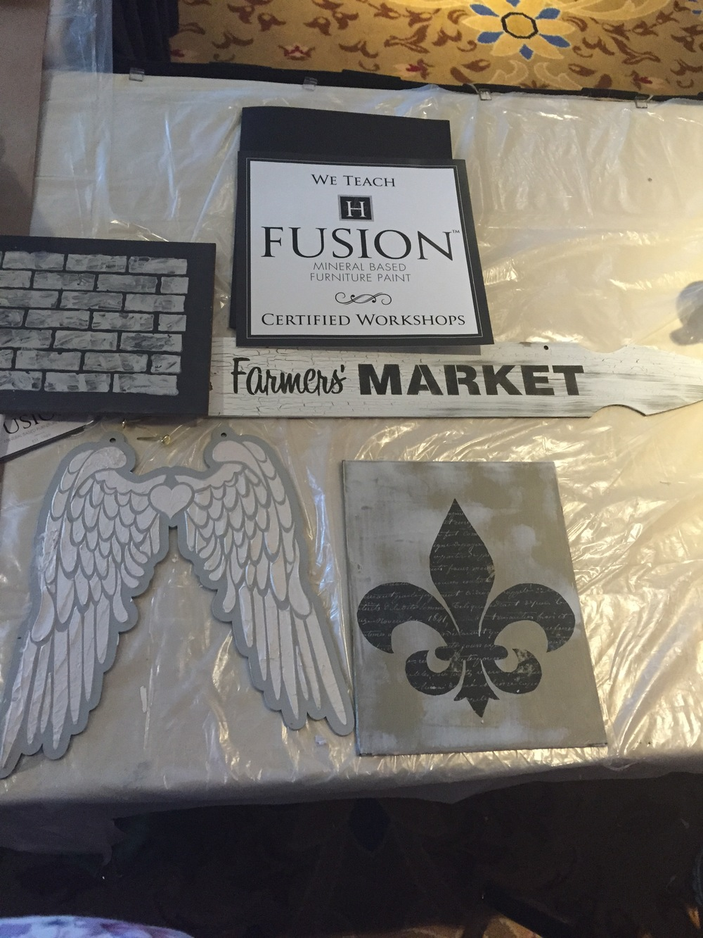 Fusion Paint Project Classes Coming Soon