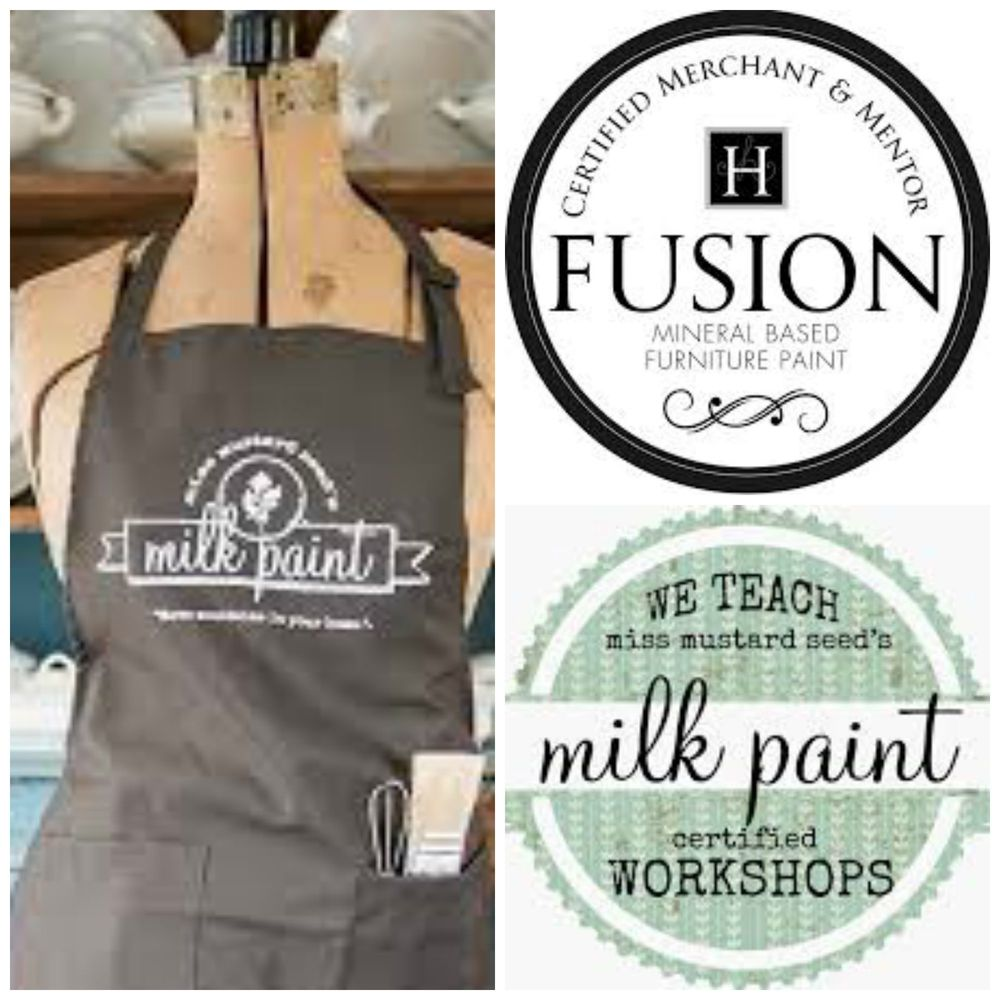 Milk Paint Fusion workshops Kelowna