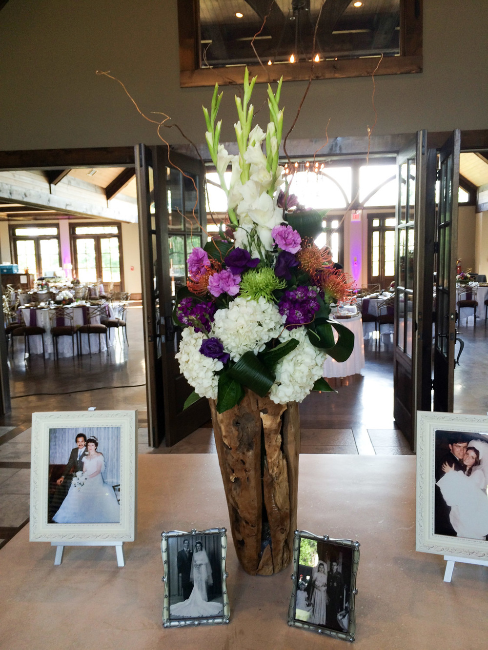Entry Table Arrangement