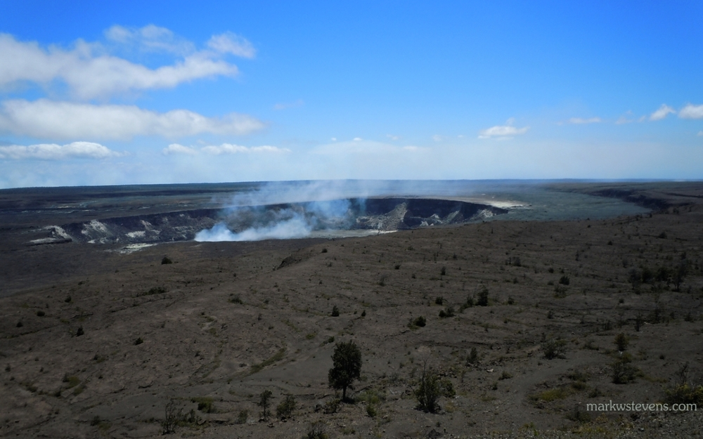 Caldera at Volcano National Park
