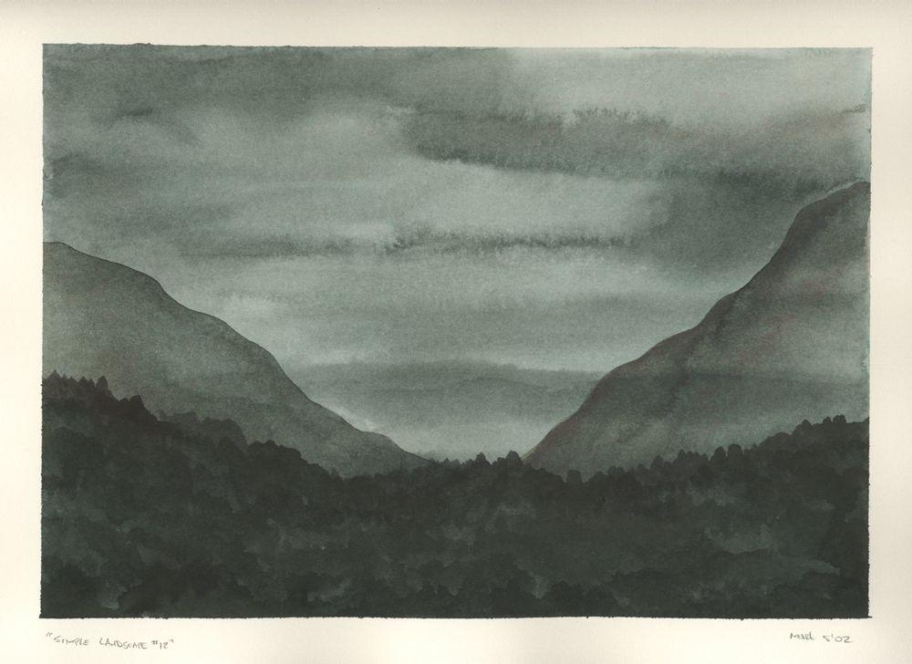 Simple Landscape #12