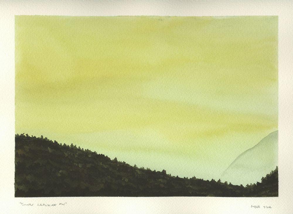 Simple Landscape #14