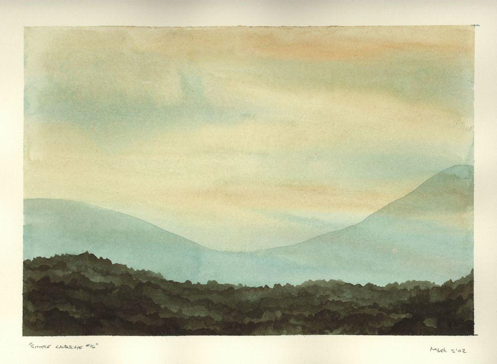 Simple Landscape #16