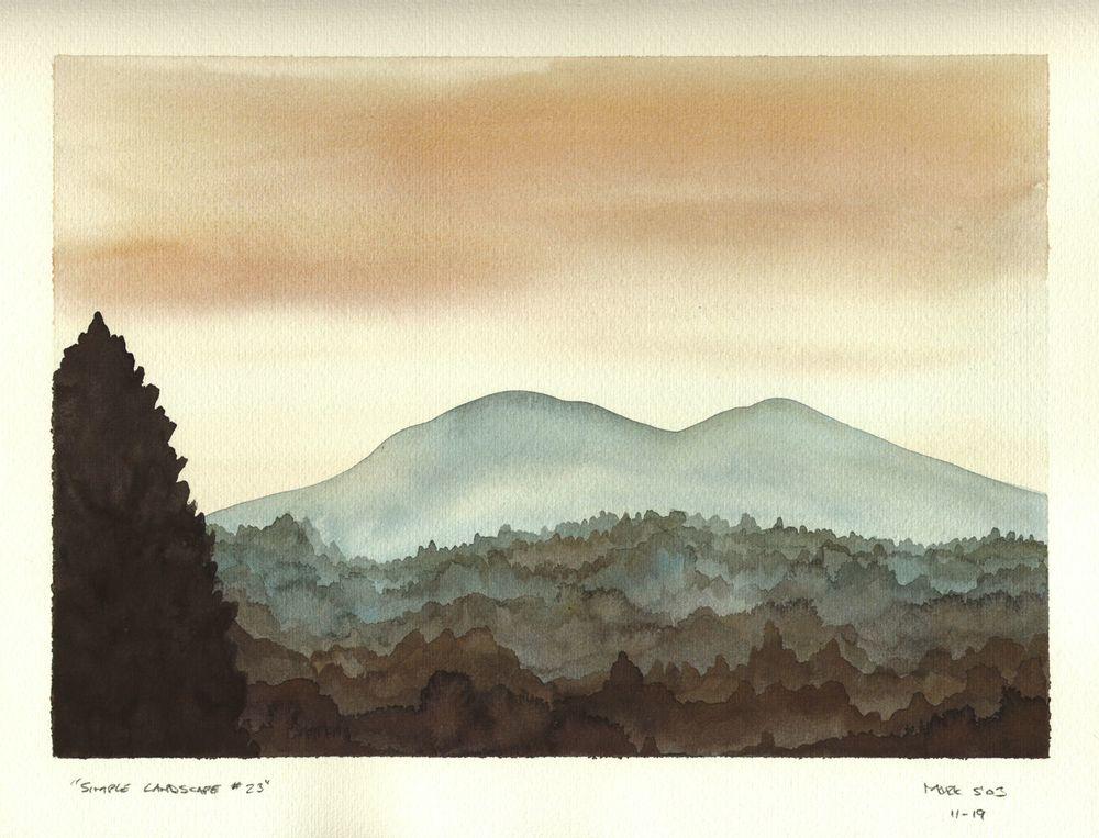 Simple Landscape #23