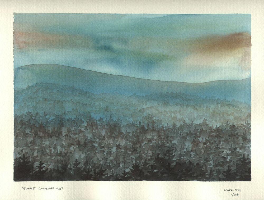 Simple Landscape #28