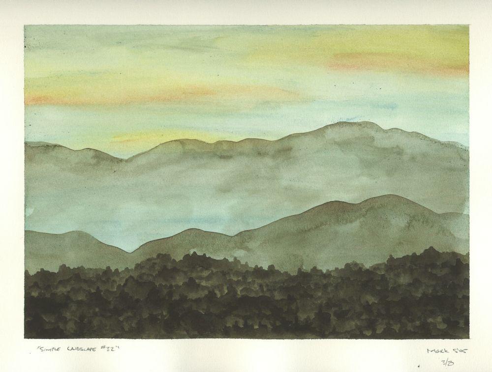 Simple Landscape #32