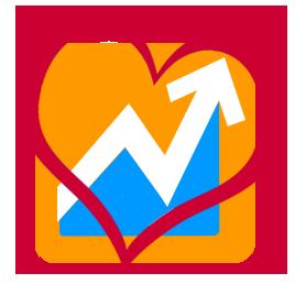 Icon: Heart around DPMG logo