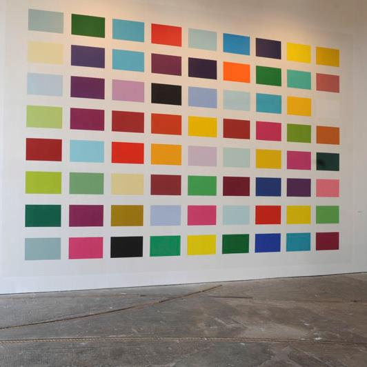 The Albert Drive Colour Chart         Shauna McMullan