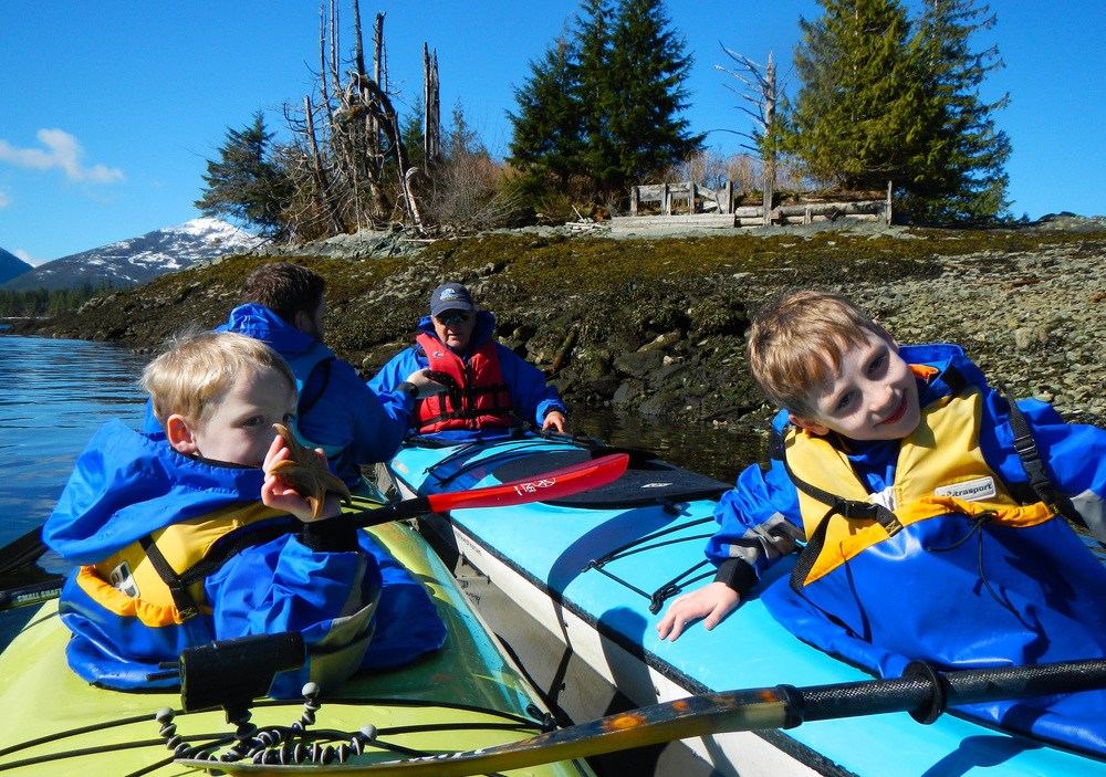 Growing up in Kayaks