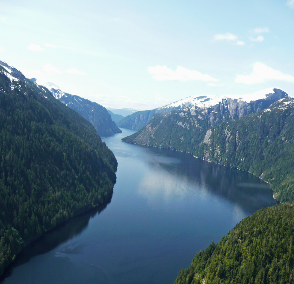 Misty Fjords from the Air