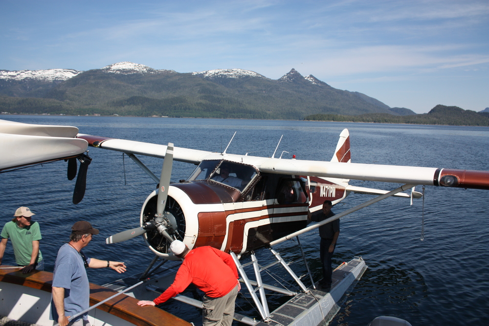 Floatplane Pick up at Orcas Cove