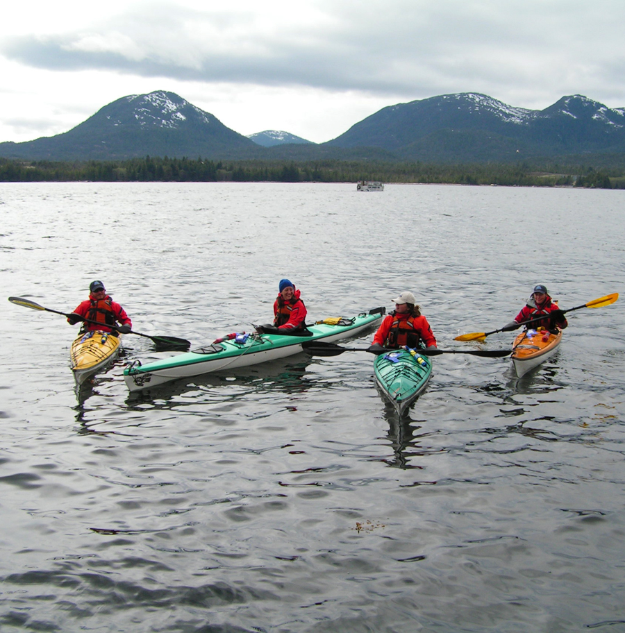 Guides should have some experience kayaking and excellent interpersonal skills.