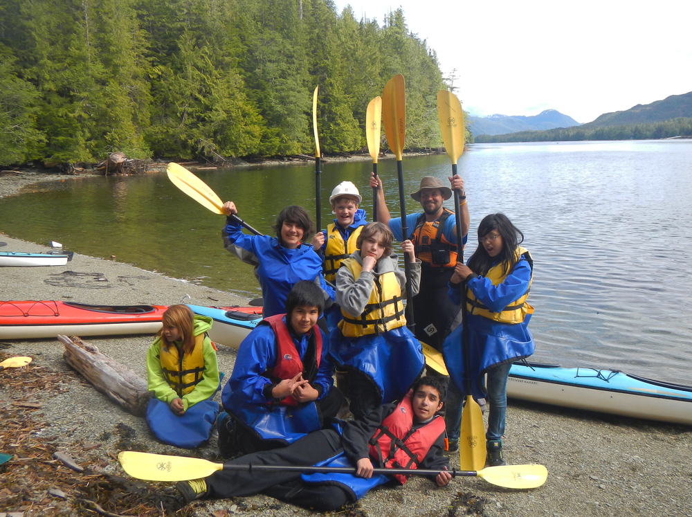 We had great fun with our Ketchikan Youth Initiatives after school paddling program.