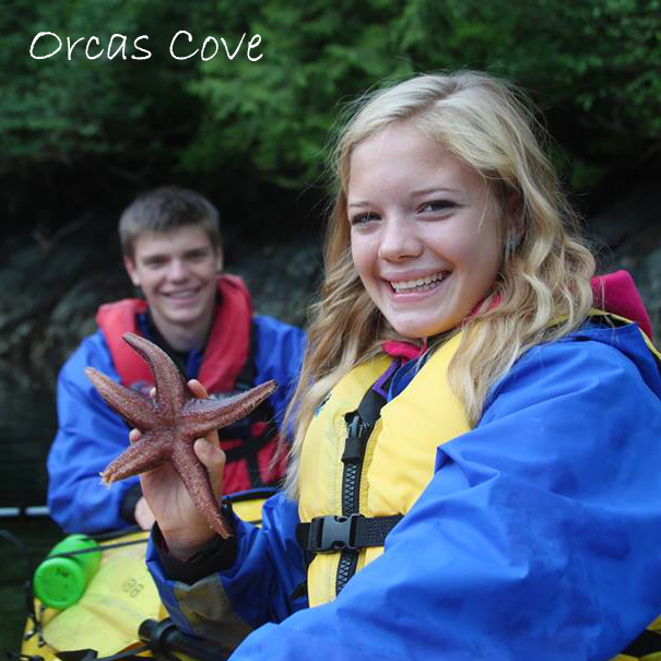 Orcas Cove Boat & Sea Kayak Adventure - 3 hours