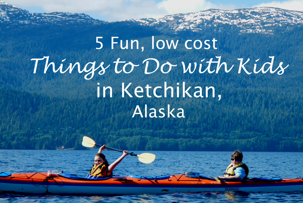 Kid Ketchikan Southeast Sea Kayaks