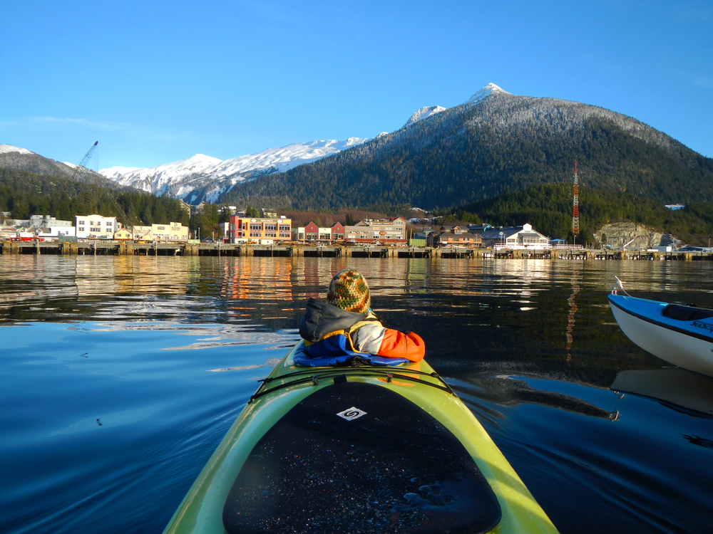 Ketchikan from a kayak