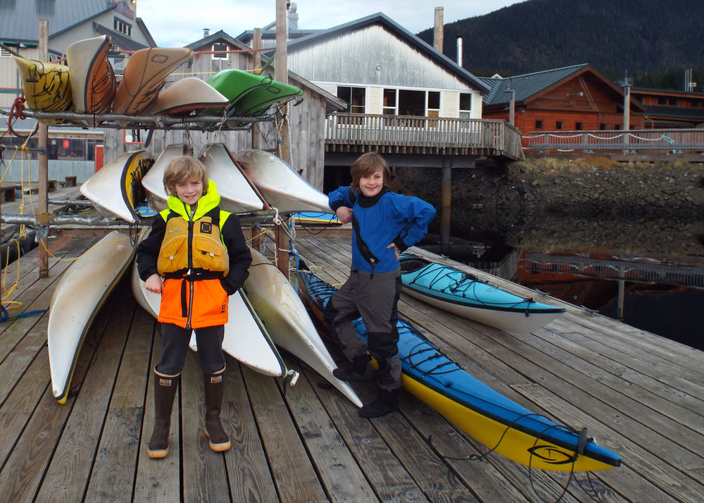 Kayaking With Kids In Alaska Southeast Sea Kayaks