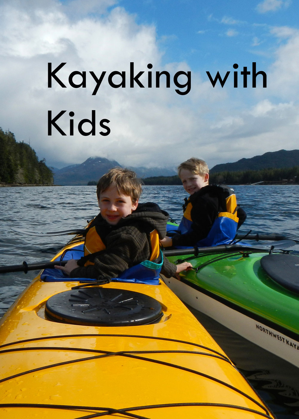 Kids love adventures! Kayaking is a great way to spend quality family time outdoors.