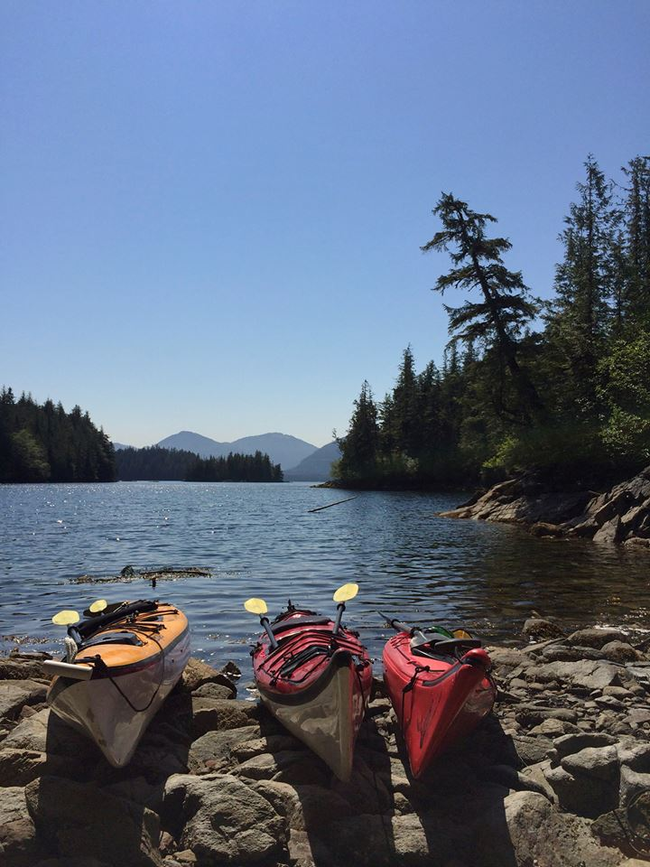 Sea kayaking and hiking far from the crowds of Ketchikan.