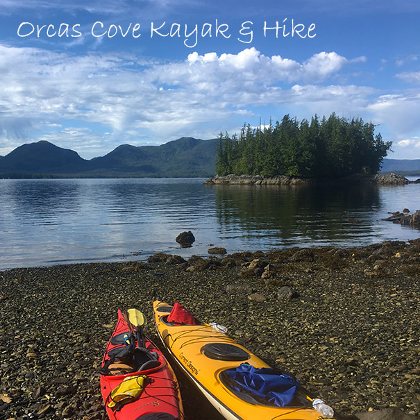 Orcas Cove Kayak and Hike 5.25 hours