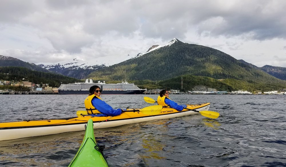 A kayaker's view of  Ketchikan .