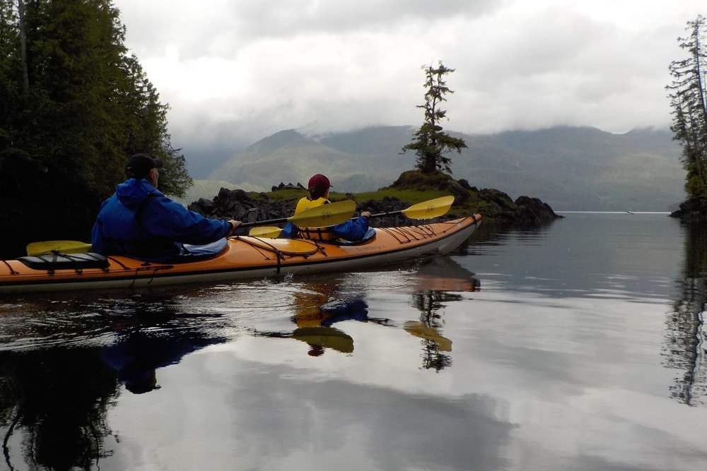 20 minutes by boat from Ketchikan,  Orcas Cove  is not accessible by road. It's the perfect place to explore by kayak.