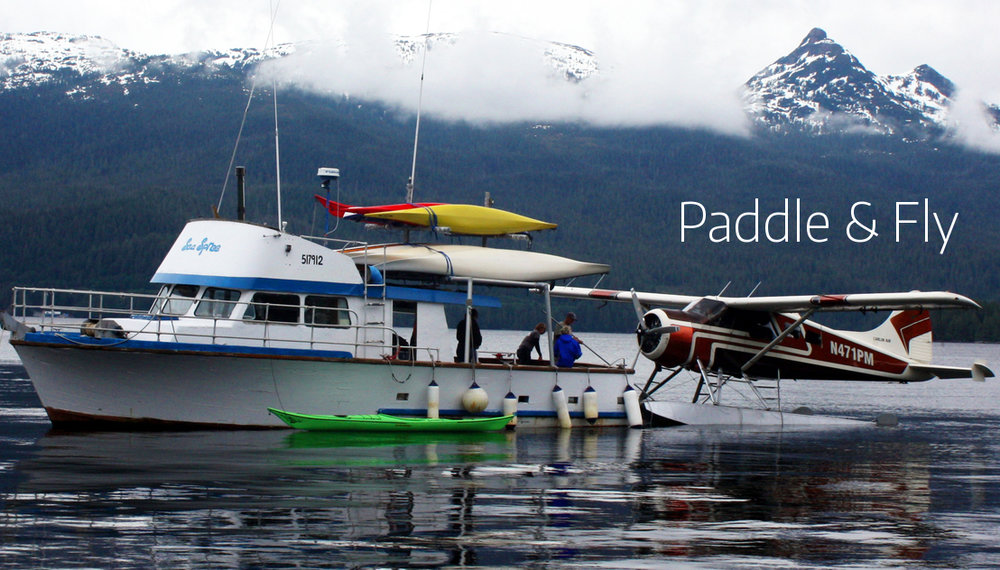 Orcas Cove Sea Kayaking & Misty Fjords Sea Plane Adventure - 4.25 hours