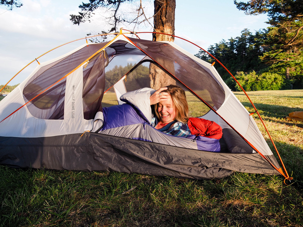 Sierra Designs sleeping bag review and photography
