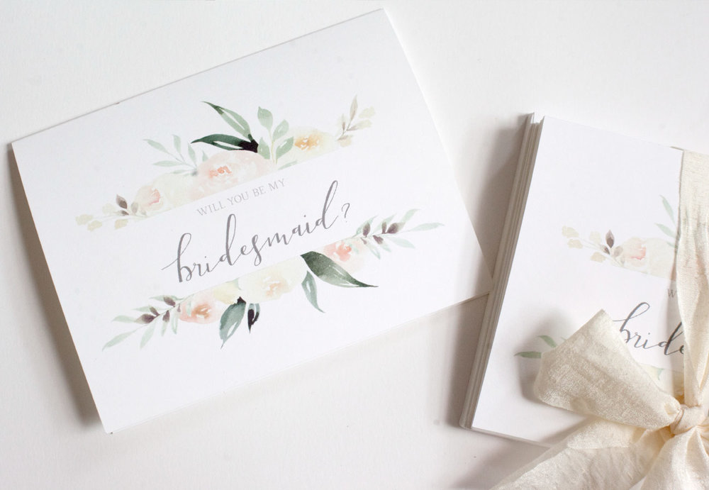 V. Paperie 'Will you be my Bridesmaid' Cards and Envelopes