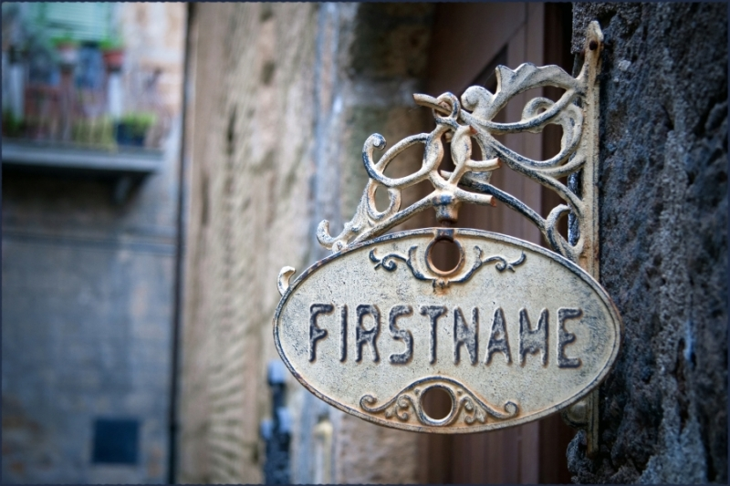 Wrought Iron Sign