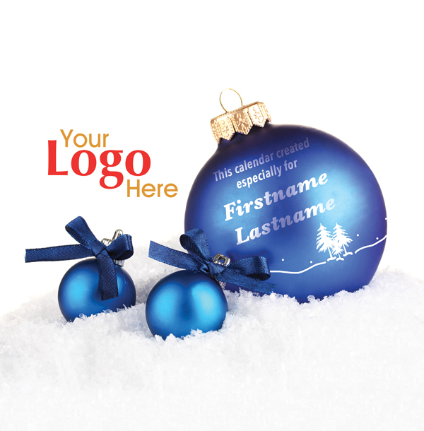 015 - Blue Ornament