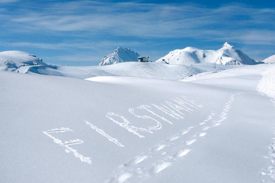 Dec - Walking in Snow