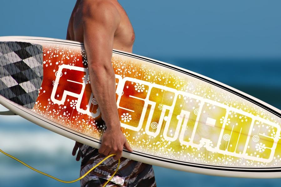 Jul - Surfboard