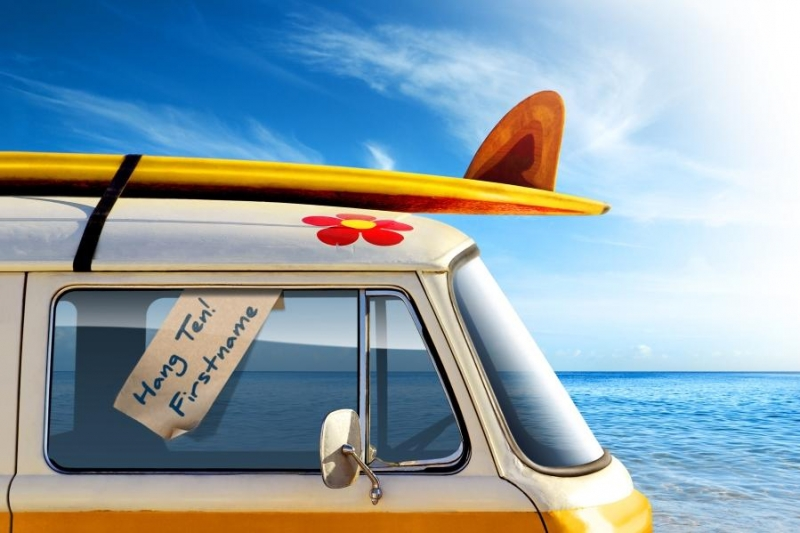 Jul - Surf Van