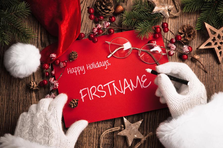 Dec - Santa Note