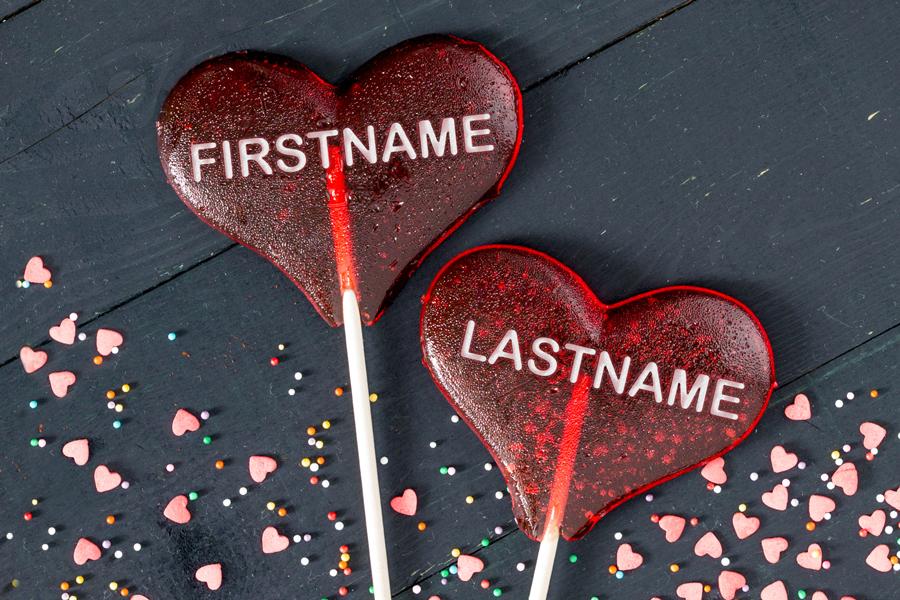 Feb - Heart Lollipops